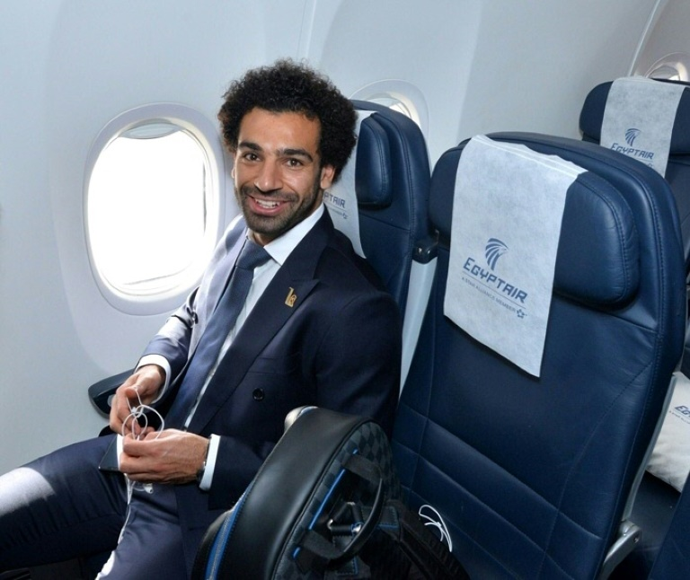 Salah's World Cup fitness uncertain as Egypt arrive in Russia