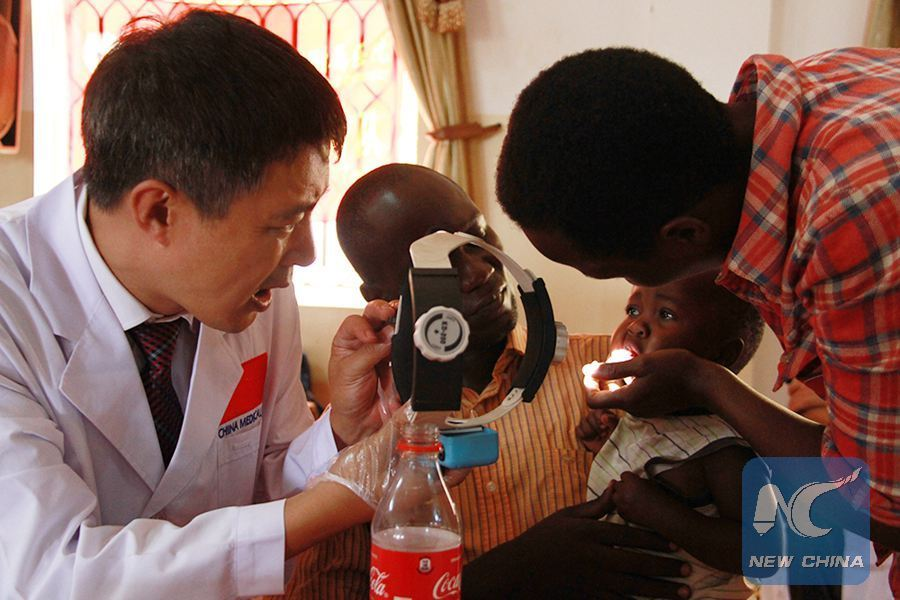 Chinese medical experts extend health care to rural Uganda