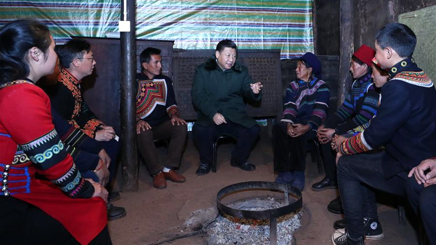President Xi urges lifting every Chinese out of poverty