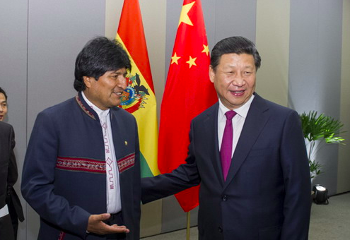 Bolivian president to visit China