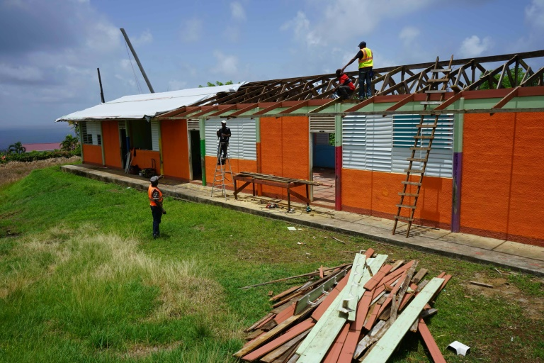 Storm-battered Dominica braces for new hurricane season