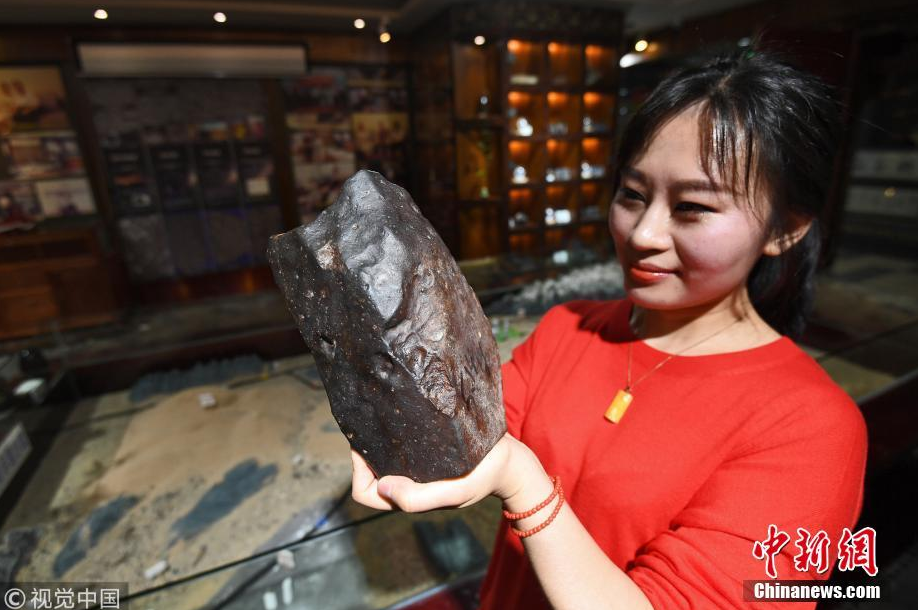 Chinese woman treks desert for five years to collect meteorites