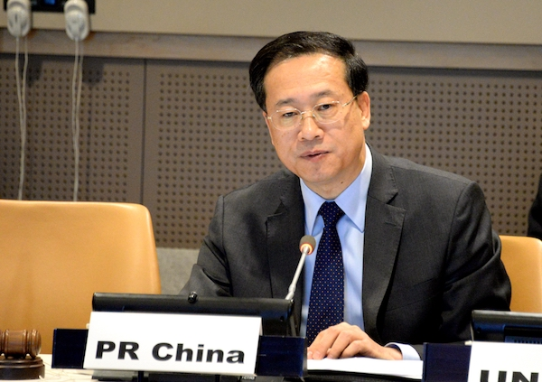 BRI resonates with, reinforce UN goals for common development: Chinese envoy