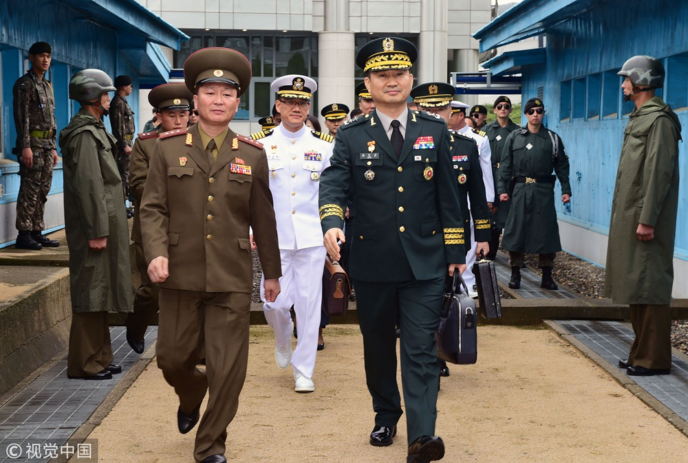 DPRK, ROK hold first general-level military talks in over 10 years