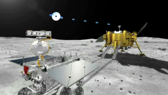 Relay satellite for Chang'e-4 lunar probe enters planned orbit