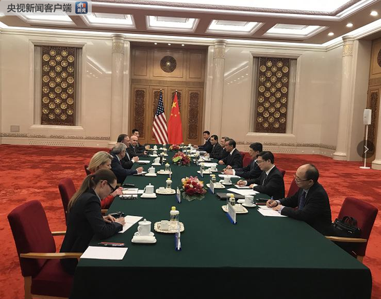 Chinese FM Wang Yi meets with US Secretary of State Mike Pompeo