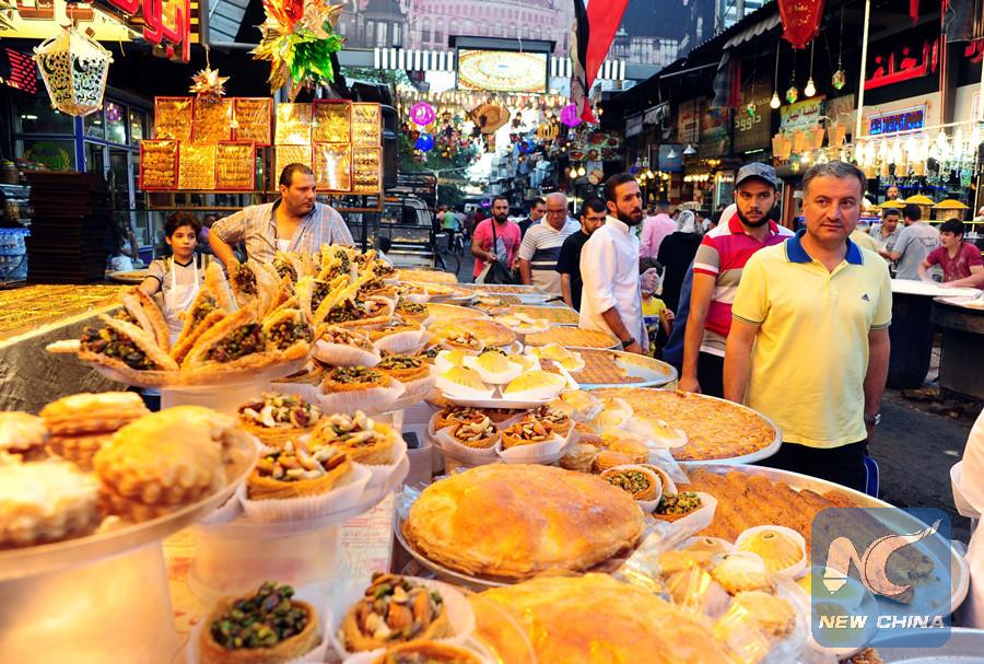Damascenes to celebrate Eid al-Fitr feast in peace