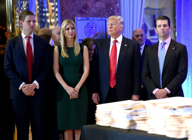 New York sues Trump for 'illegal conduct' at family foundation