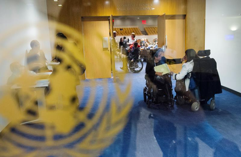 China's UN envoy urges global efforts for disability care