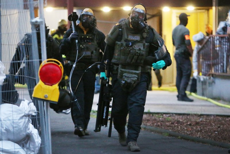Prosecutor: Man makes deadly toxin for an attack in Germany