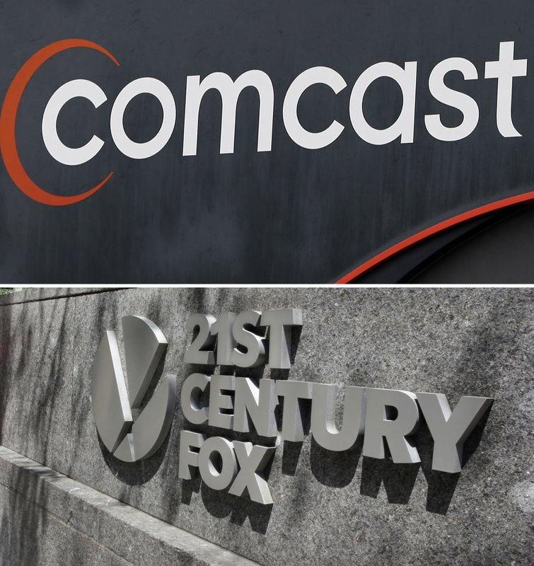 Comcast-Disney fight highlights shifting media landscape