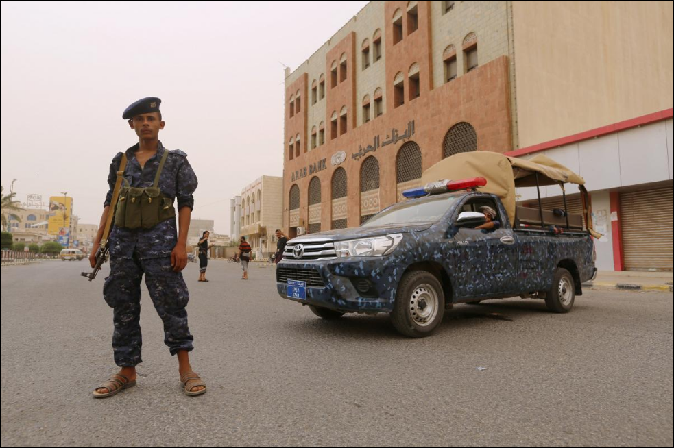 Arab forces seize entrance to airport in Yemen's main port city