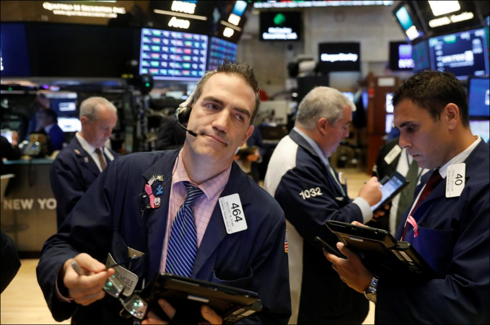 Trade worries, oil pull Wall Street lower