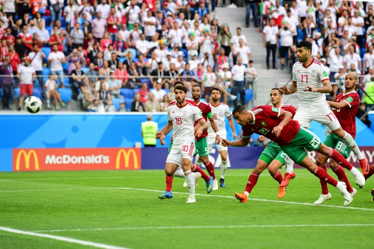 Bouhaddouz own goal hands Iran late victory over Morocco