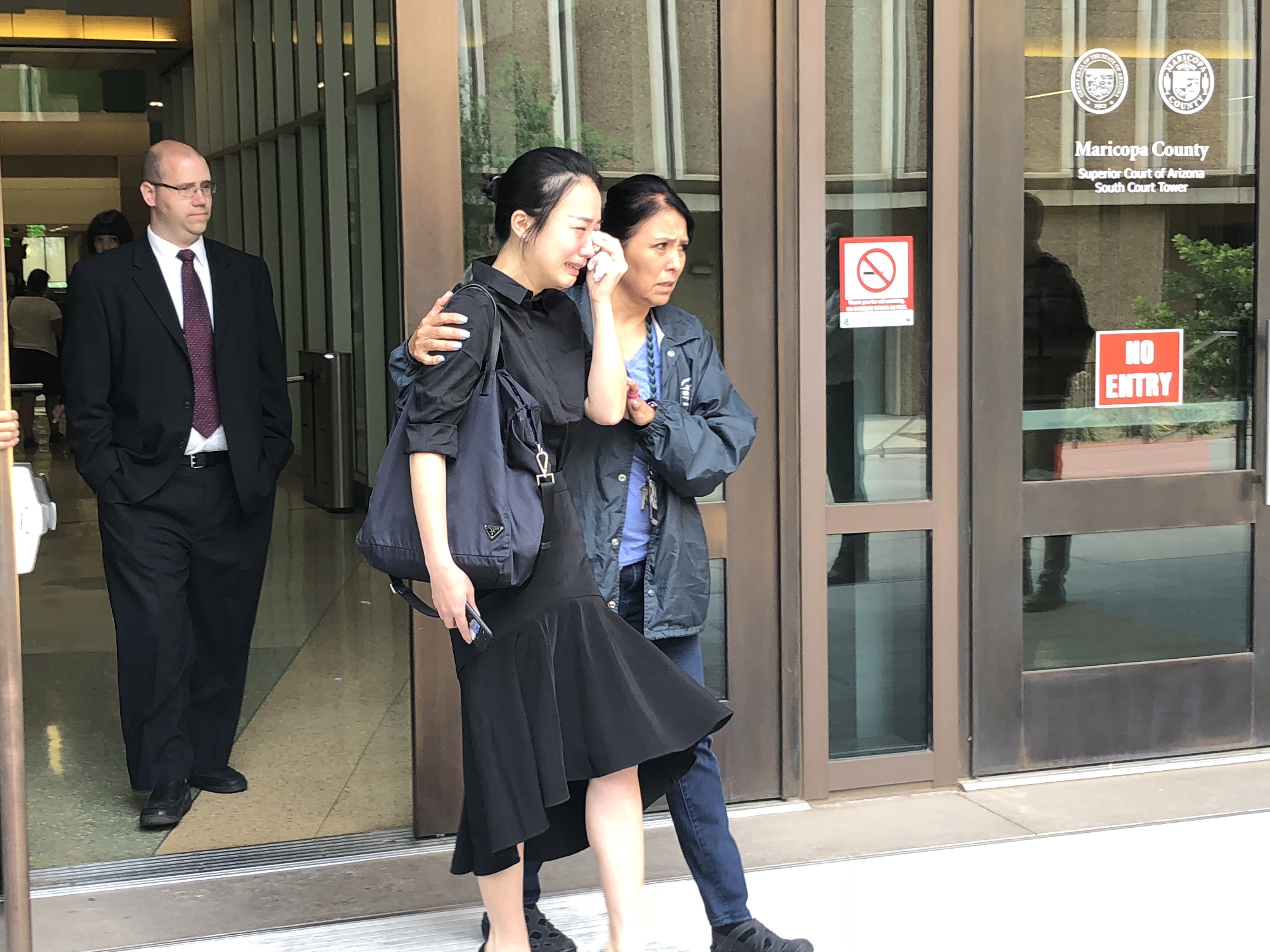 American woman sentenced to 25 years for killing Chinese student after rear-end crash