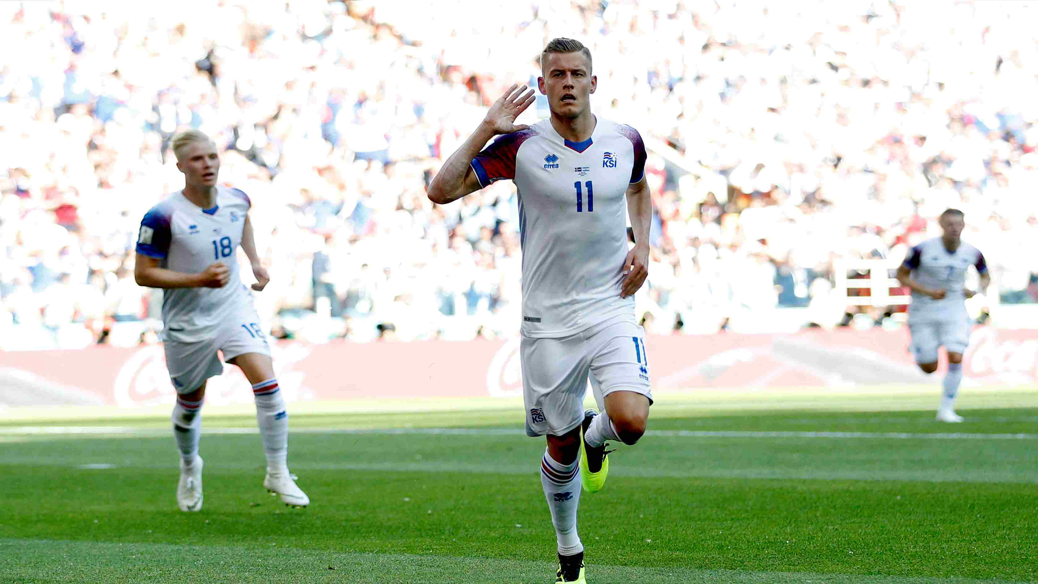 Iceland drags Argentina to a draw with first World Cup goal