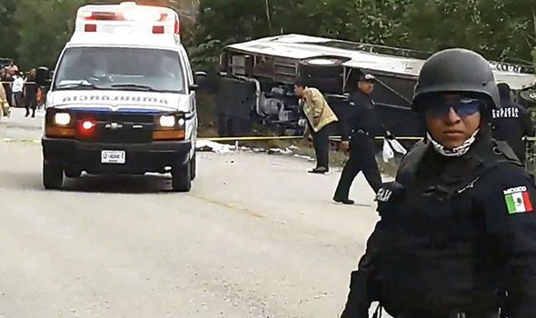 At least seven killed, 28 injured in Mexico bus crash