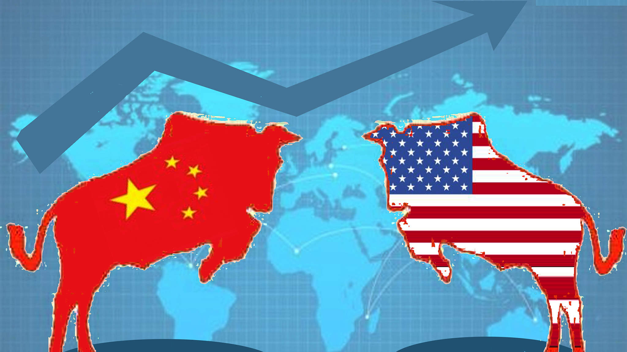 The US chose trade war, lost the world