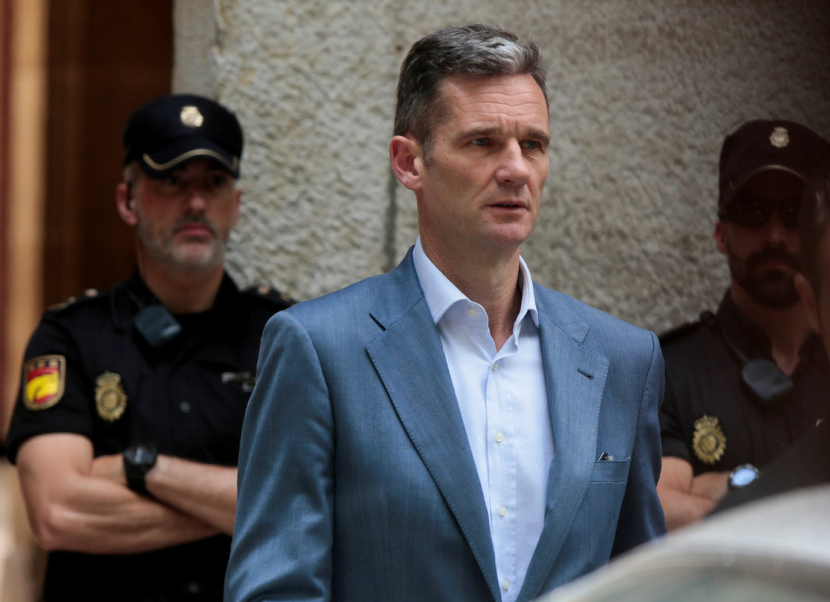 Spanish king's brother-in-law imprisoned for corruption