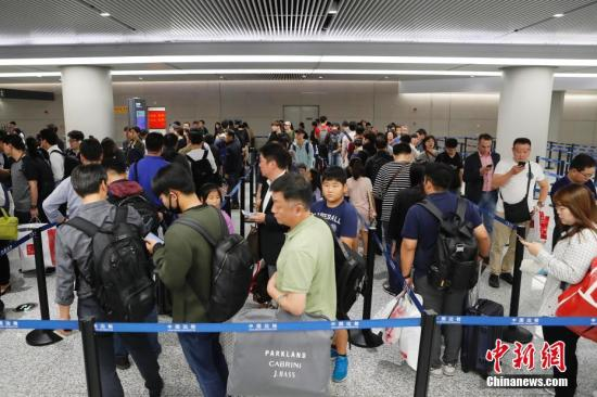 Chinese travelers to pass customs checkpoints in 30 minutes
