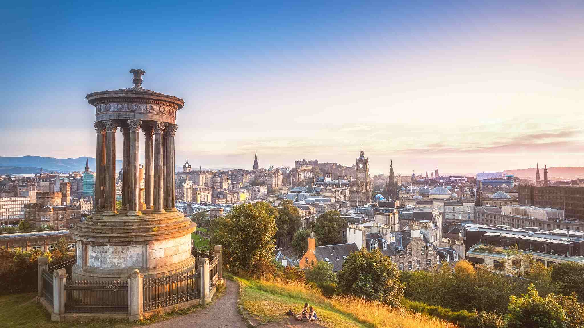 Places to visit as the first-ever China-Scotland flight touching down in Edinburgh