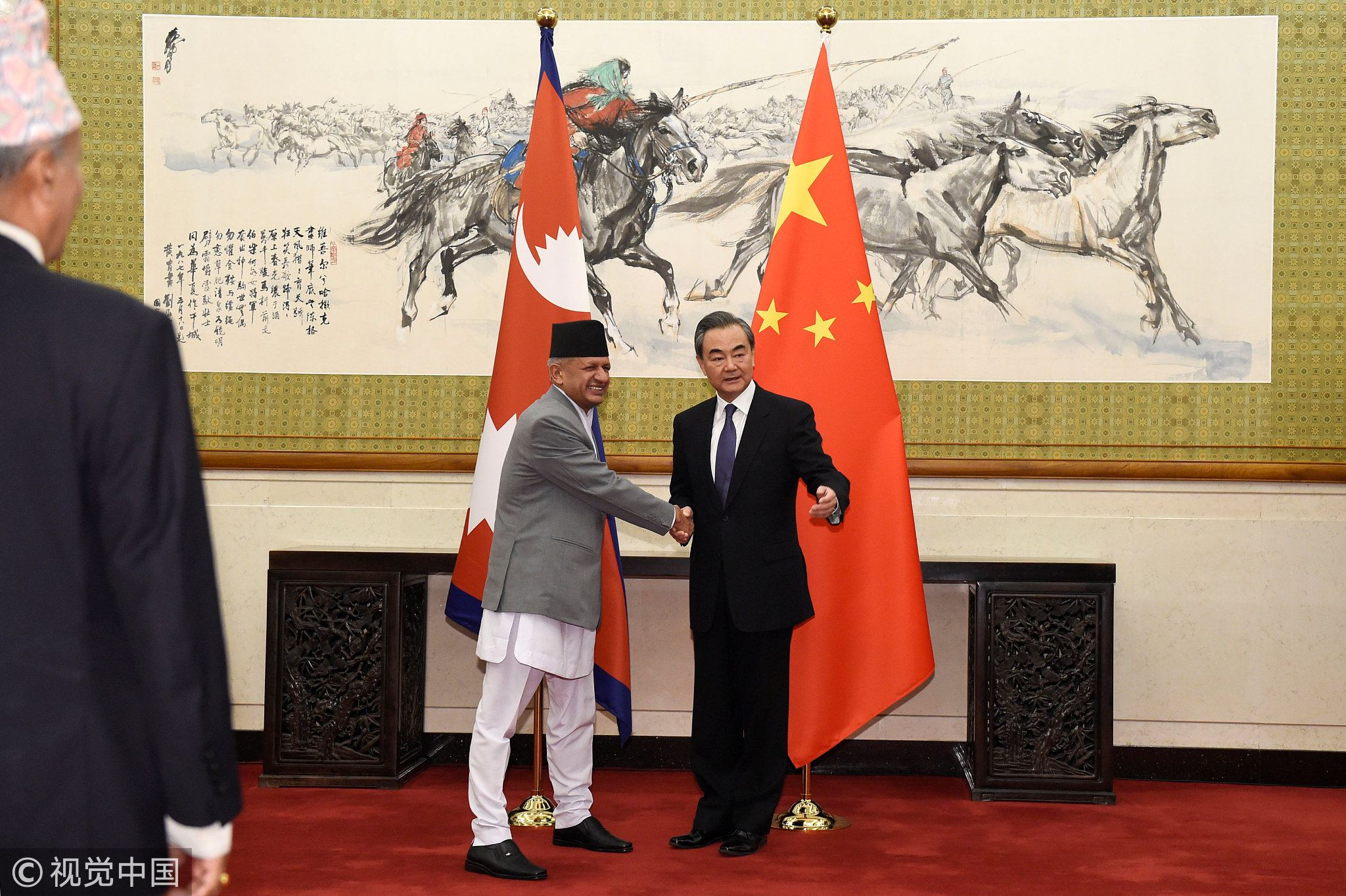 Nepal's Oli visits Beijing amid China-India-Nepal Triangle