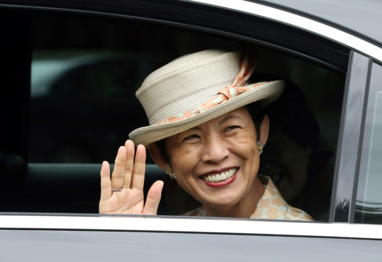 Japan's Princess Takamado makes surprise Russia visit for World Cup