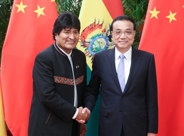 China, Bolivia to deepen cooperation
