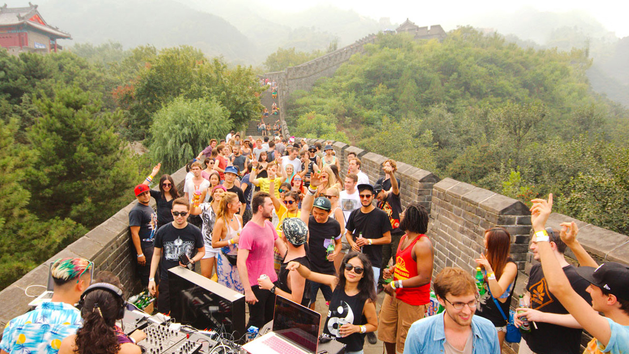 Music festival at The Great Wall is a party with a purpose