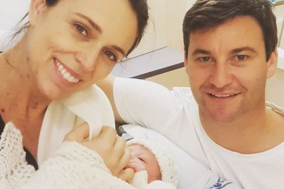 New Zealand PM gives birth to a girl