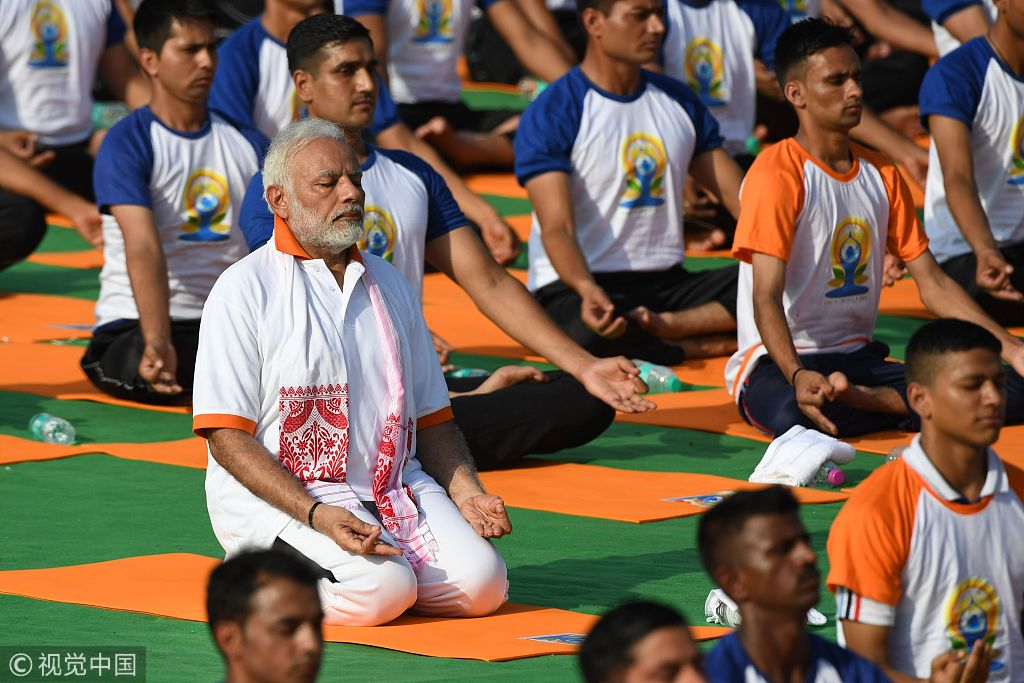 Yoga regains popularity, becomes latest fad in India