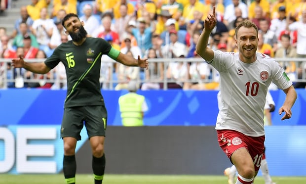 Denmark 1-1 Australia