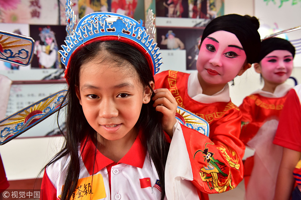 Chinese culture showcased to Malaysian students
