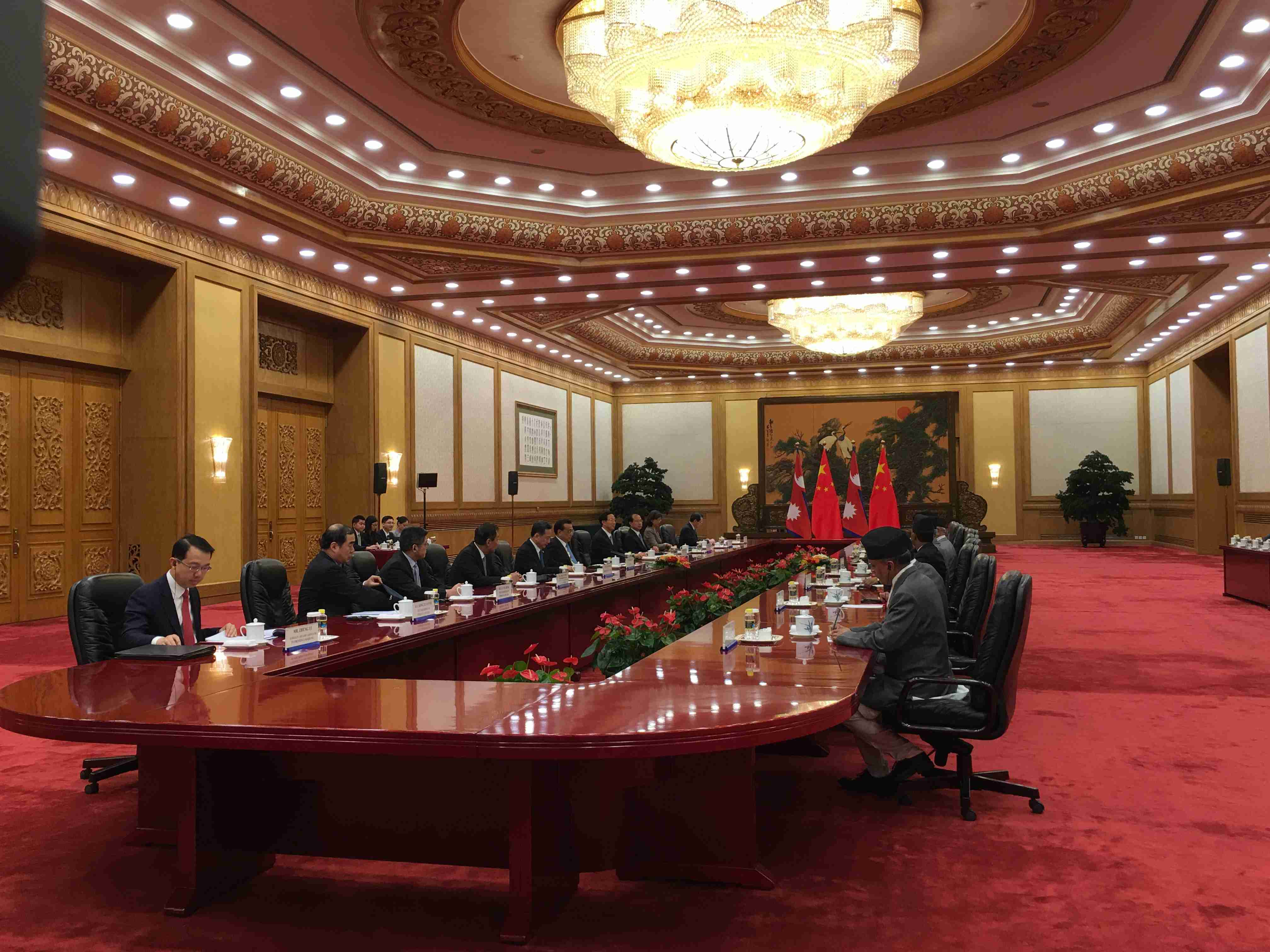 China and Nepal sign 14 infrastructure and connectivity deals