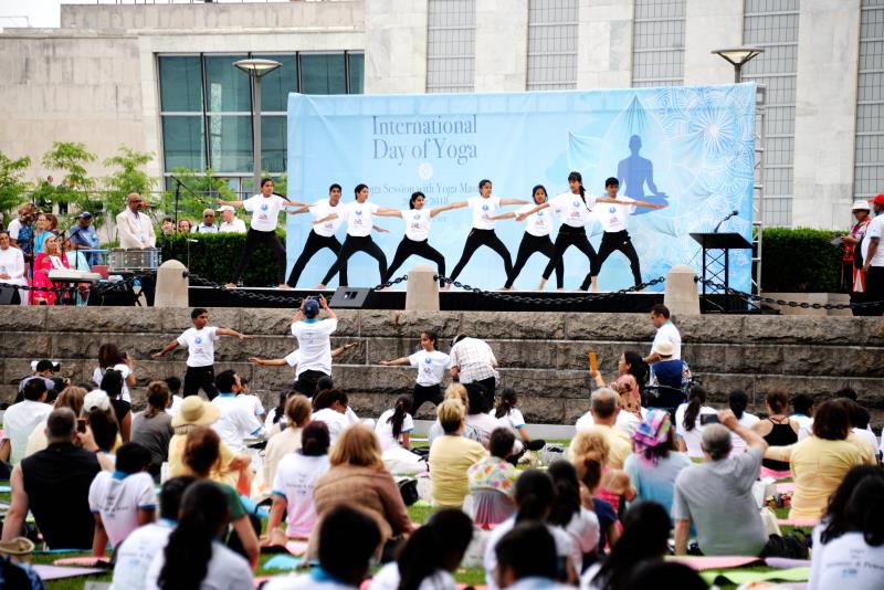 International Day of Yoga celebrated at UN Headquarters