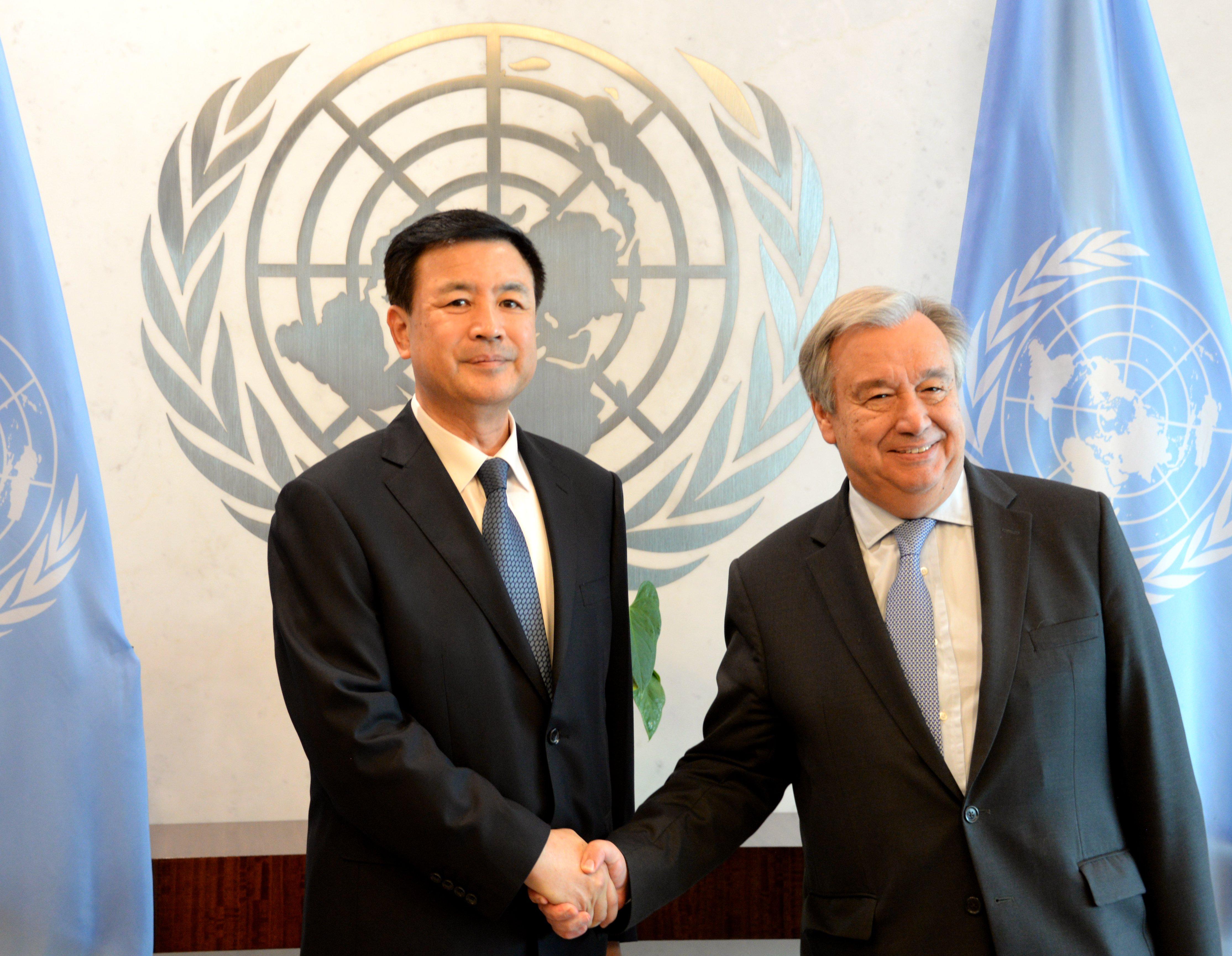 UN Secretary-General applauds China's contribution to peacekeeping