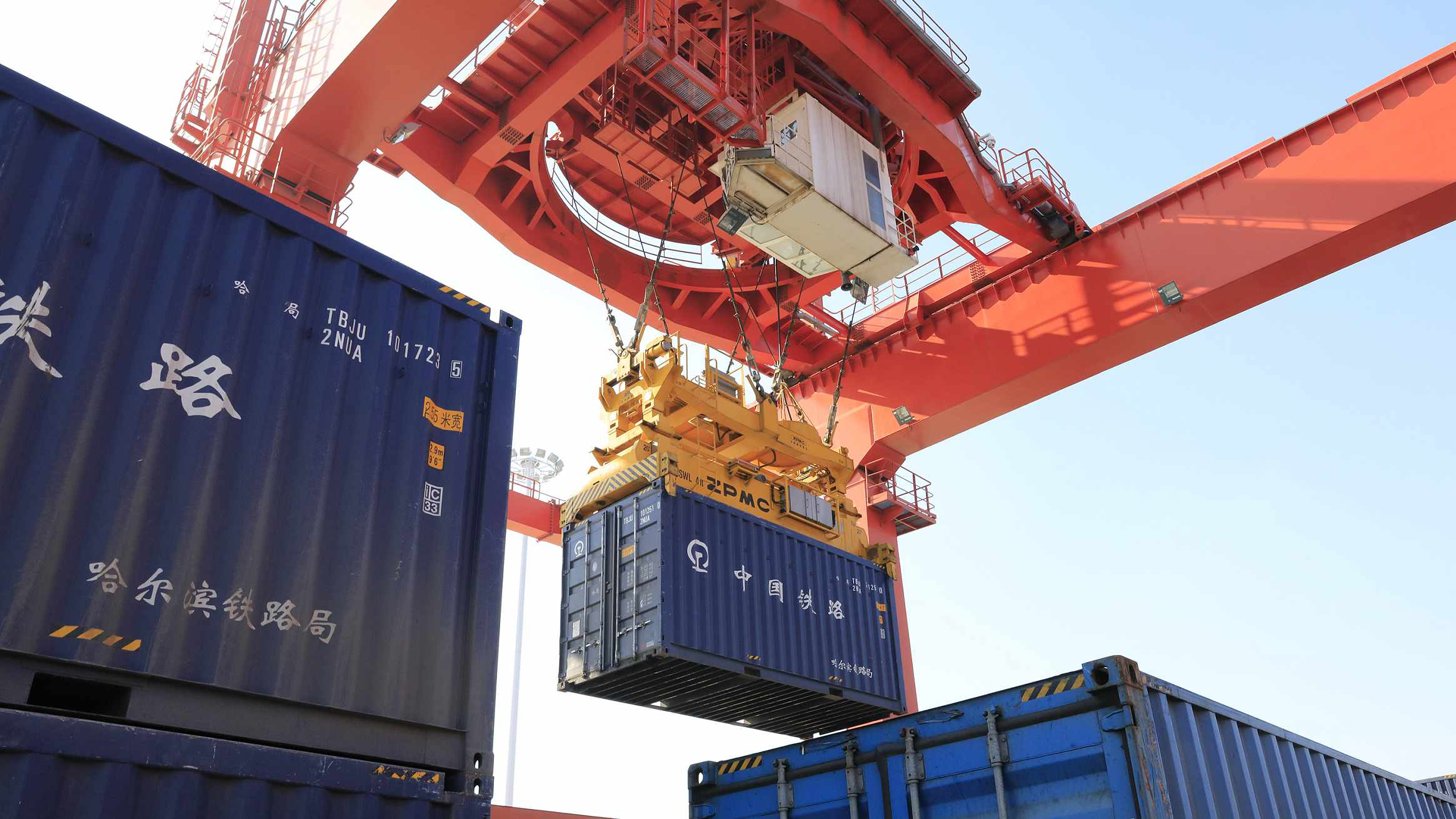 May sees the fastest growth in China's railway freight