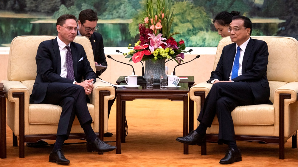China to work with EU to safeguard multilateralism
