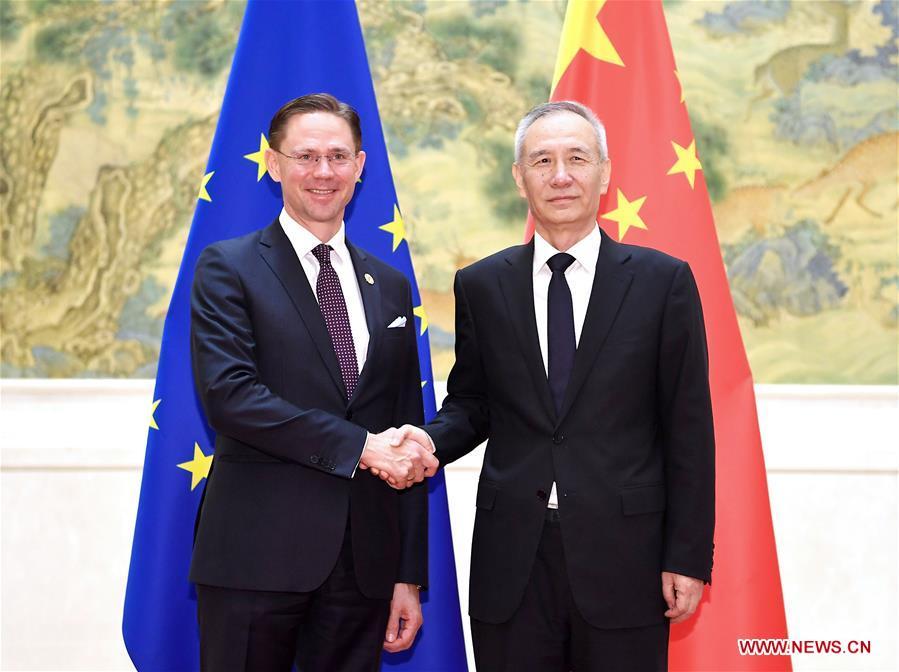 China, EU oppose unilateralism, protectionism