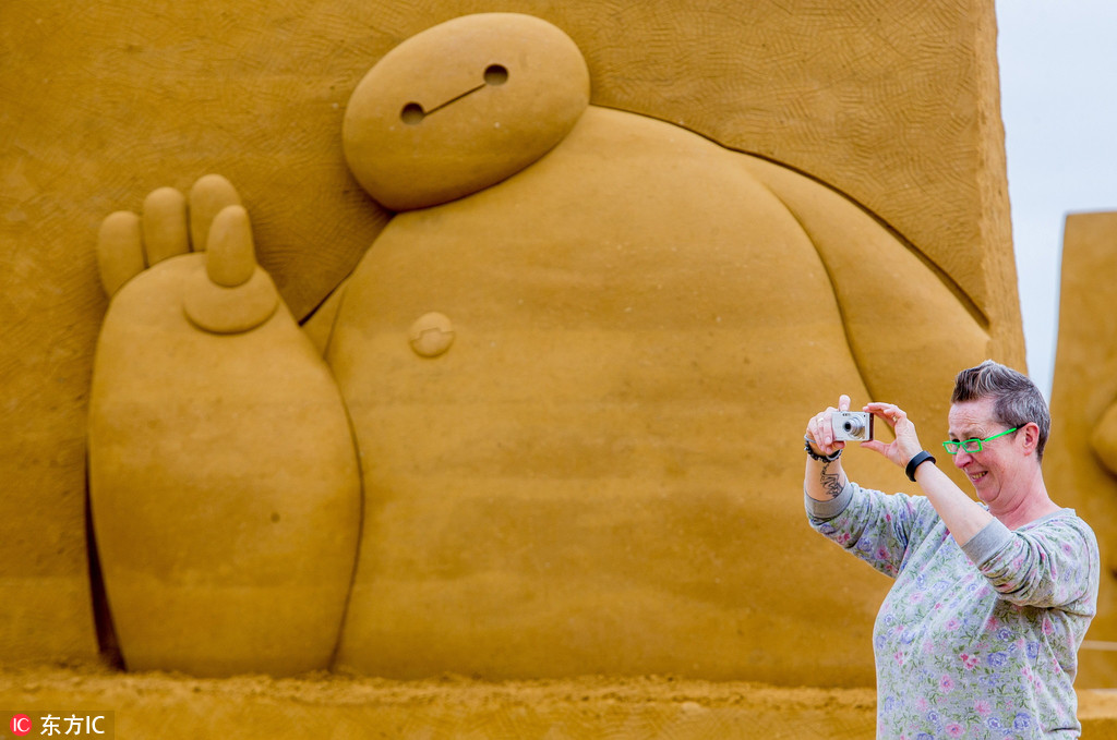 World's largest sand sculpture festival ongoing in Belgium