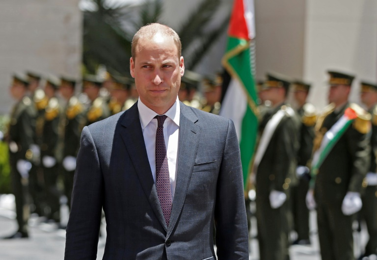 In West Bank, Prince William speaks of Palestinian 'country'