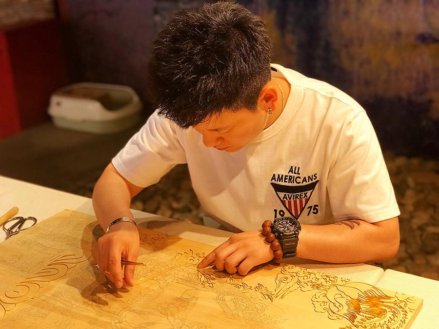 Enamel studio opens in Harbin, Heilongjiang province