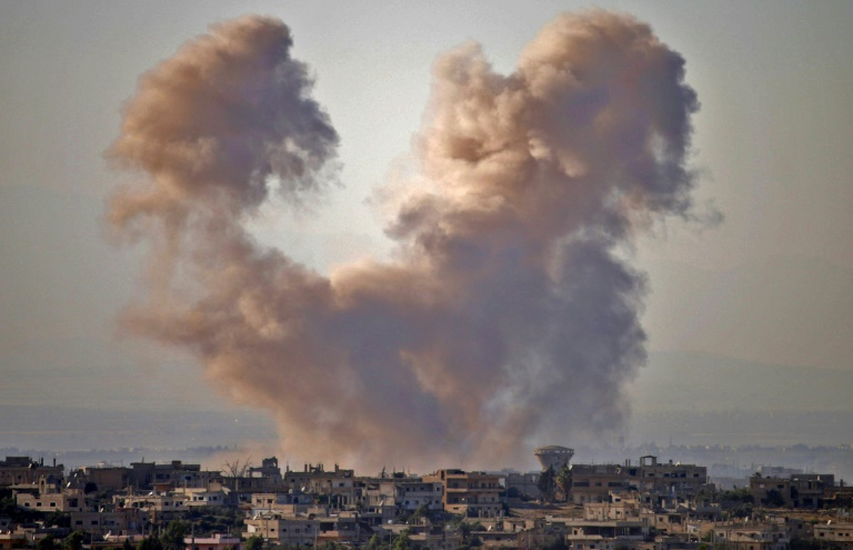 Bloodiest day yet in south Syria offensive