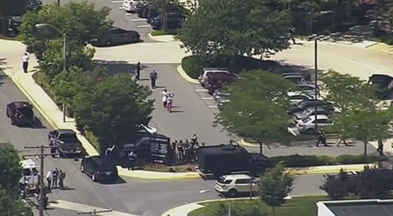Shooting in Maryland's Annapolis causing at least 5 injured