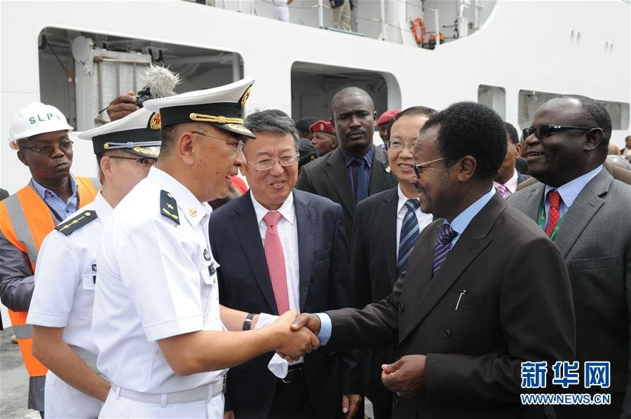 Chinese military to deliver Ebola research center to Sierra Leone