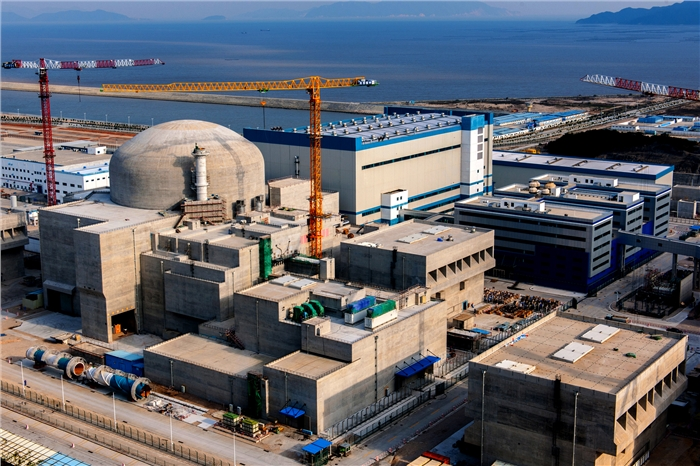 World's most advanced pressurized water reactor connected to the grid