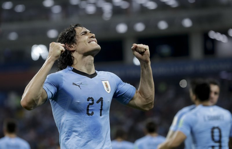 In Pics: Messi and Ronaldo exit world cup without a title, Uruguay's Cavani rises