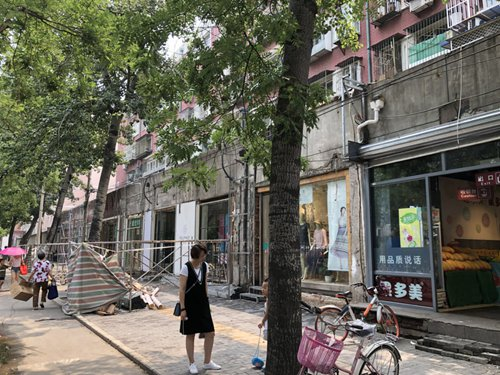 Beijing unifies storefront facades, accused of hurting creativity