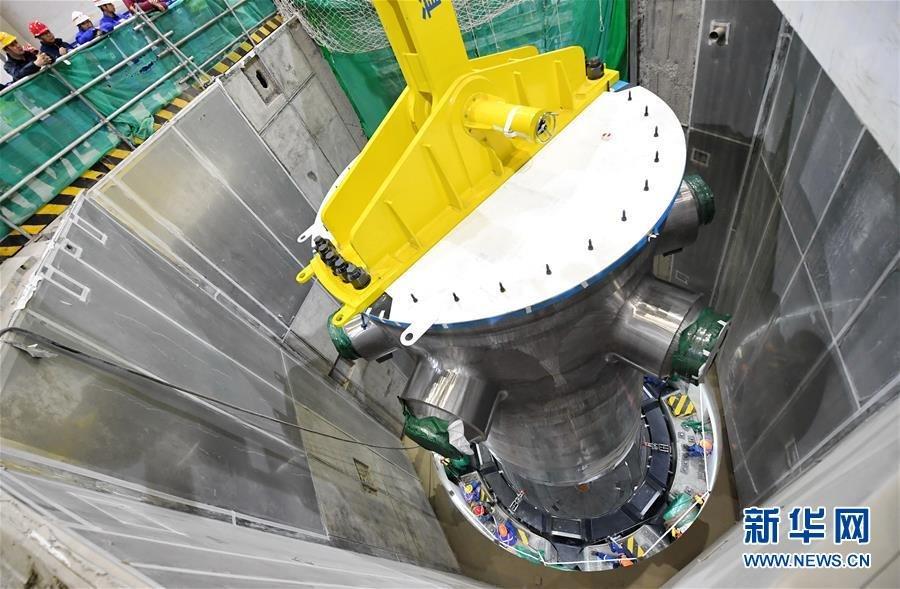 3rd-generation nuclear reactors start test run