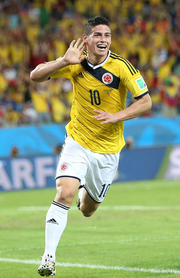 James Rodriguez has no serious injury, says Colombia coach Pekerman